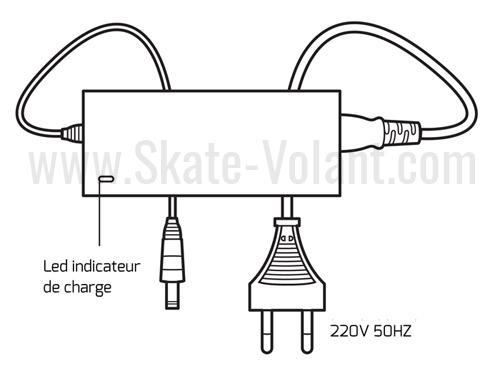 chargeur-skate-electrique-yuneec-e-go